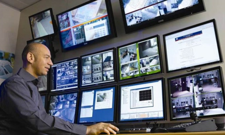 Access Control And CCTV Surveillance System