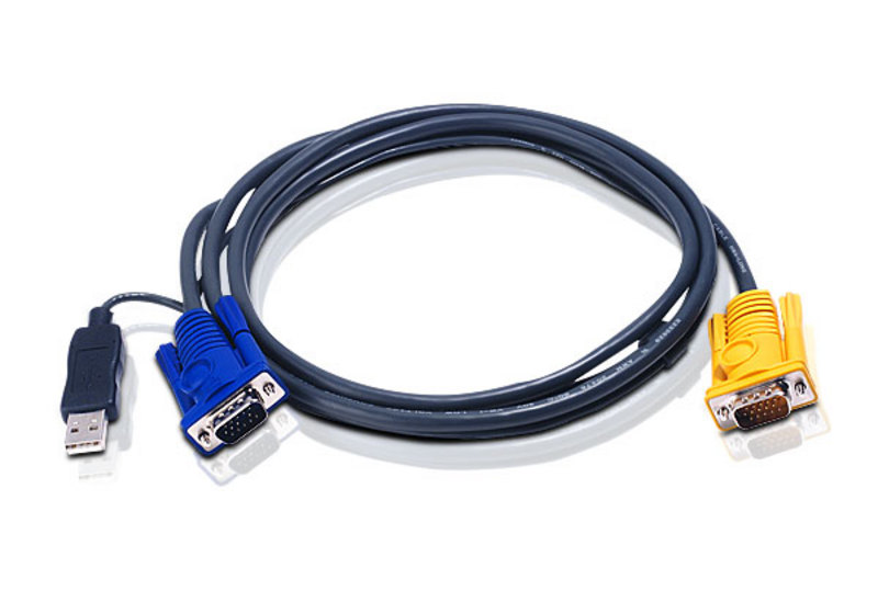 Aten 2L-5206UP USB to SPHD-15 Intelligent Cable