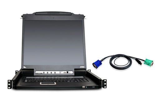 Aten CL5708M LCD KVM switch 8-port 17