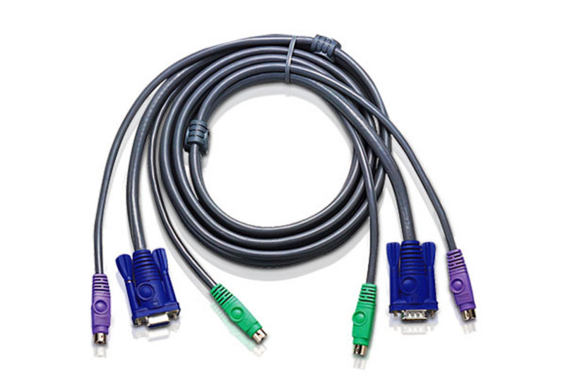 Aten 2L-5001P/C PS/2 to PS/2 Standard Cable