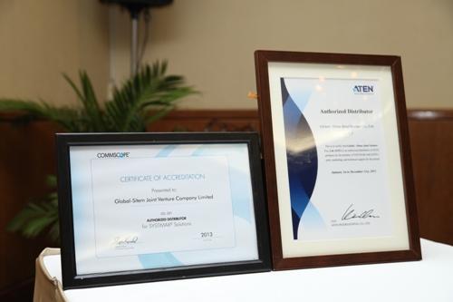 Lễ công bố GSC là NPP duy nhất các sản phẩm của COMMSCOPE và ATEN