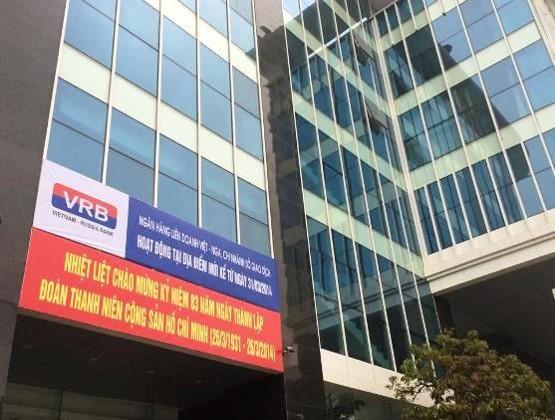 Ngân hàng Liên doanh Việt - Nga (VRB Bank).