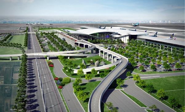 Nhà ga T2 sân bay Nội Bài và Sân bay Tân Sơn Nhất