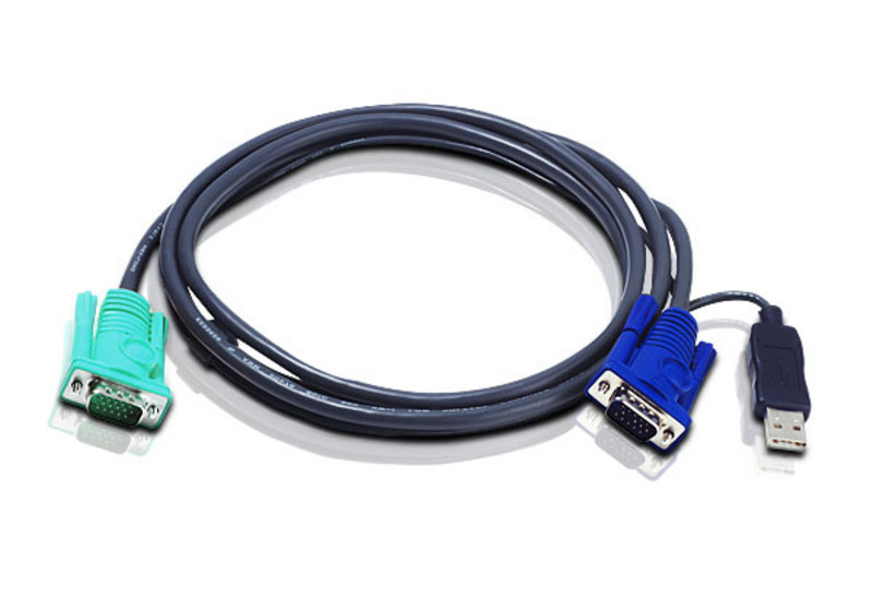 Aten 2L-5202U USB to SPHD-15 Cable