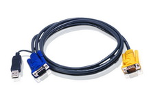 Aten 2L-5203UP USB to SPHD-15 Intelligent Cable